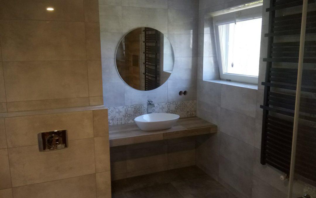 Łazienka z ogrzewaniem elektrycznym podłogi